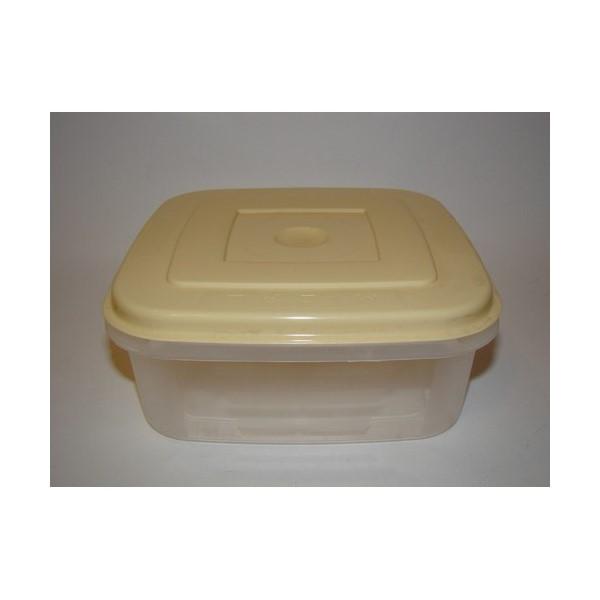 Négyzetes doboz 1 L+tető
