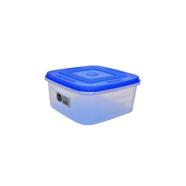 Négyzetes doboz 2 L+tető