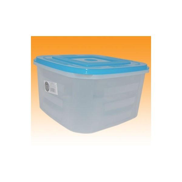 Négyzetes doboz 4 L+tető