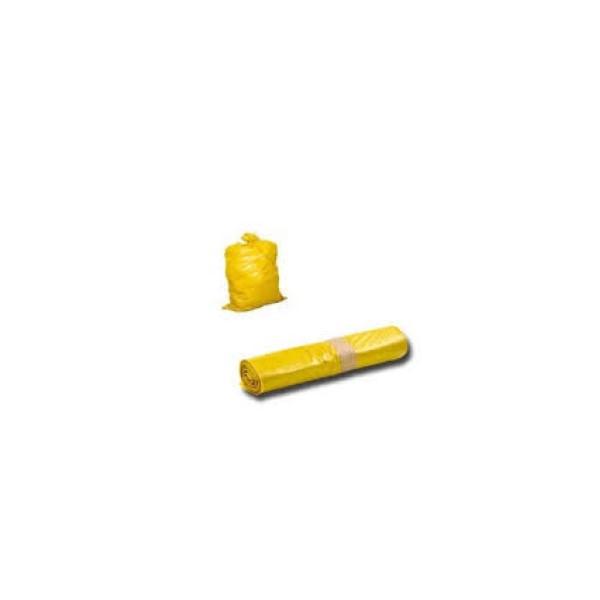 Szemeteszsák sárga 36x45 cm/50 db