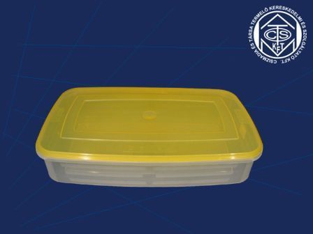 Lapos doboz 7 L+tető