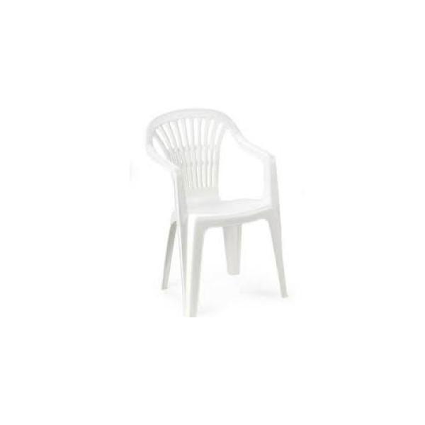Altea fehér szék alacsonytámlás