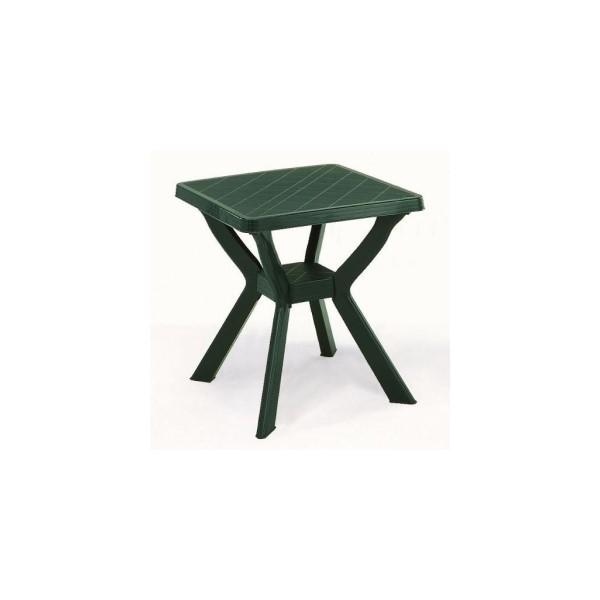 Reno 70x70 cm zöld asztal