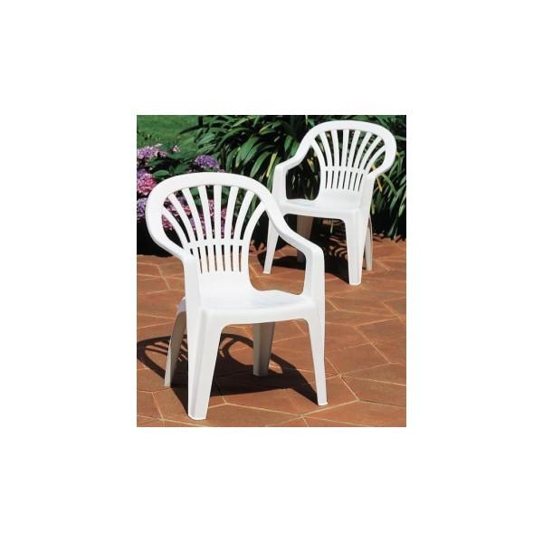 Zena fehér szék magastámlás