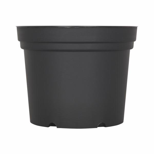 Hajtatócserép 18 cm fekete