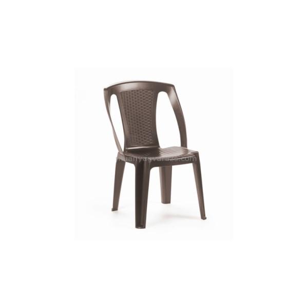 Procida barna szék támlás