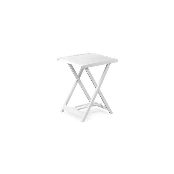 Arno 47x50 cm fehér asztal