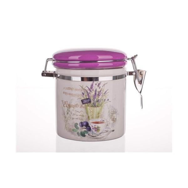 Csatos LEV 450 ml porcelán tároló