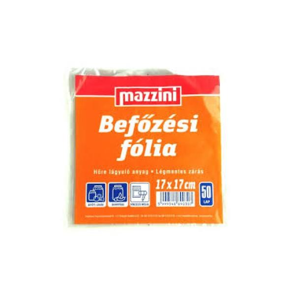 Befőzői fólia 17x17 cm/50 db Mazzini