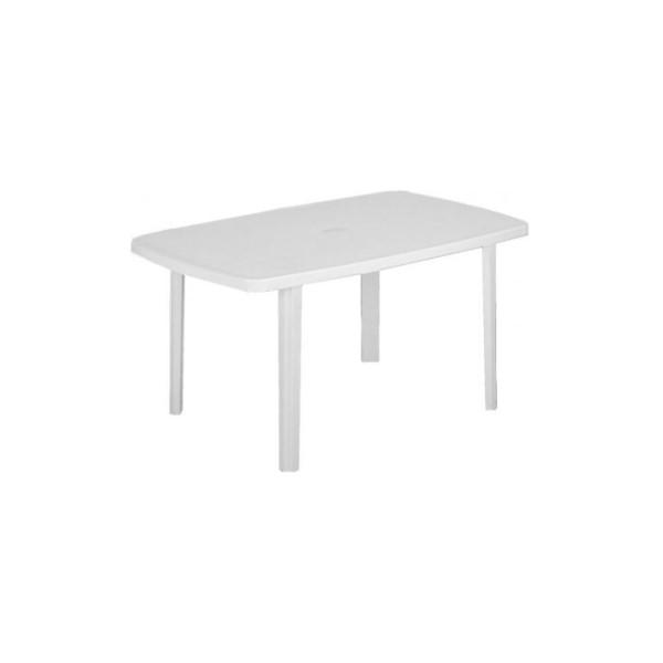 Faro 85x140 cm fehér asztal