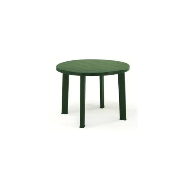 Tondo 90 cm zöld asztal