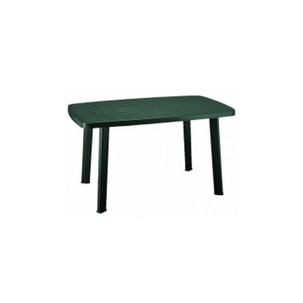 Faro 85x140 cm zöld asztal