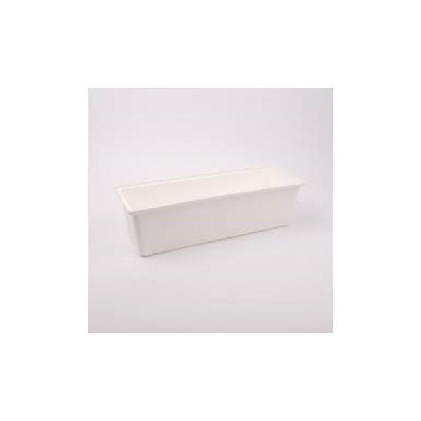 Balkonláda 40 cm fehér